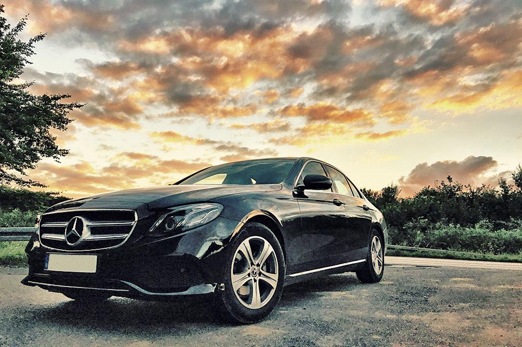 Business-Class-Limousine Mercedes E-Klasse Exterieur