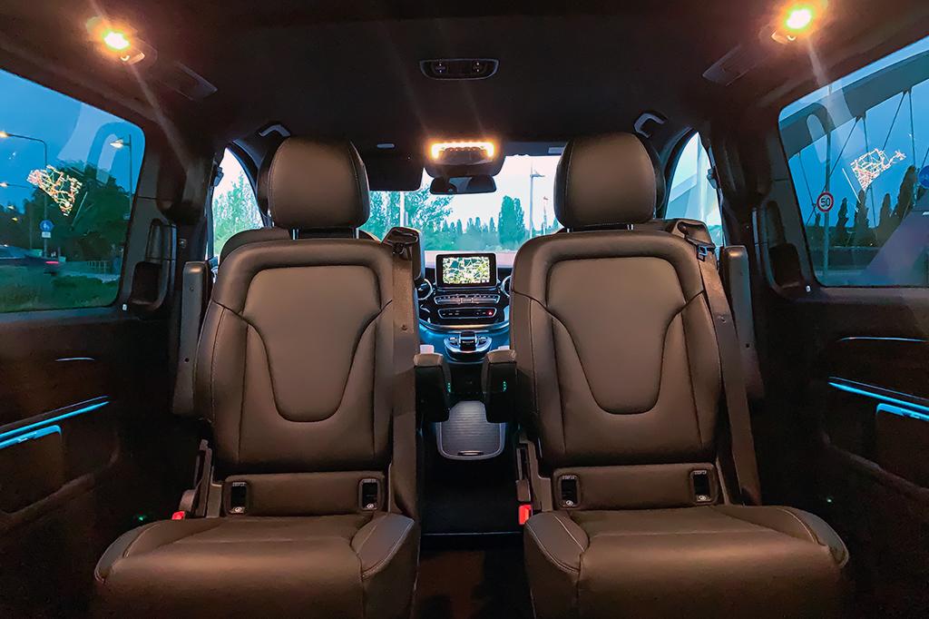 First-Class-Van Mercedes V-Klasse V250 Interior